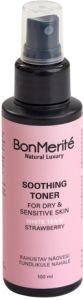 BonMerité Soothing Toner White Tea & Strawberry (100mL)