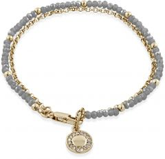 Buckley London Opaque Grey Camden Bracelet BT804