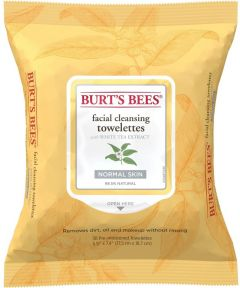 Burt's Bees Facial Cleansing Towelettes with White Tea Extract (30pcs) Normal Skin