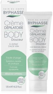 Byphasse Hair Removal Cream Aloe Vera (125mL)