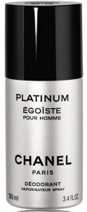 Chanel Egoiste Platinum Deospray (100mL)