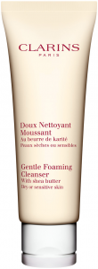 Clarins Gentle Foaming Cleanser (125mL) Dry or Sensitive Skin