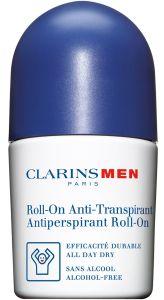 Clarins Men Antiperspirant Deo Roll-On (50mL)