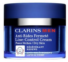 Clarins Men Line Control Cream (50mL) Dry Skin