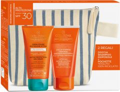 Collistar Active Protection Sun Cream Face&Body SPF30 (150mL) + After Sun Shower-Shampoo (150mL)
