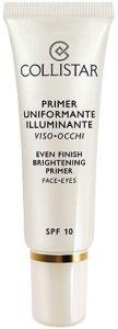 Collistar Even Finish Brightening Primer Face&Eyes SPF10 (30mL)