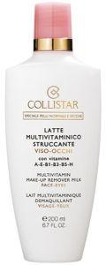 Collistar Multivitamin Pieniņš Kosmētikas Noņemšanai (200mL) Normālai vai sausai ādai