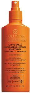 Collistar Supertanning Moisturizing Milk Spray SPF15 (200mL)
