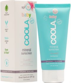 Coola Mineral Baby Organic SPF 50 Unscented (90mL)