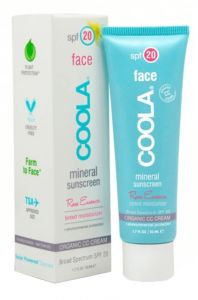 Coola Mineral Face SPF 20 Lotion Tinted Rose (50mL)