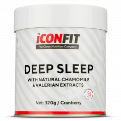 ICONFIT Deep Sleep Valerian+chamomille (320g) Cranberry