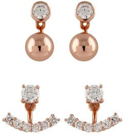 Buckley London Interchangeable Earring Set CZES007