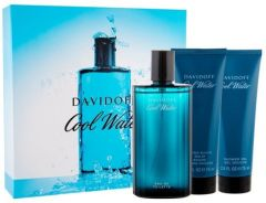 Davidoff Cool Water Pour Homme EDT (125mL) + SG (75mL) + ASB (75mL)