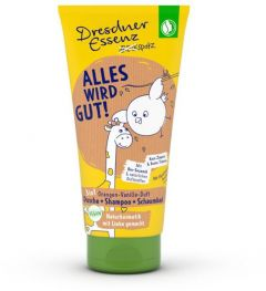 Dresdner Essenz Children 3in1 Shower Gel Orange-Vanilla (200mL)