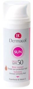 Dermacol Sun WR Tinted Sun Protection Fluid (50mL) Waterproof Toning Protective Fluid