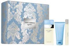 Dolce & Gabbana Light Blue EDT (100mL) + BC (75mL) + EDT (10mL)