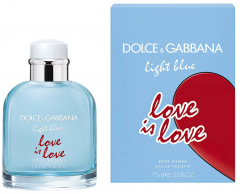 Dolce & Gabbana Light Blue Love is Love Pour Homme EDT (75mL)