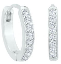 Dondella Base Earrings Snowflake  CDO1-1-E