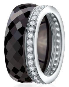 Dondella Ring Ceramic Double 17.75 CJT8-1-R-56