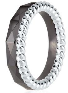 Dondella Ring Ceramic Rope 15.25 CJT22-1-R-48