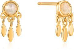 Ania Haie Gold Midnight Fringe Stud Earrings