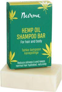Nurme Cietais šampūns ar kaņepju eļļu (100g)