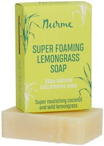 Nurme Super Foaming Lemongrass Soap (100g)