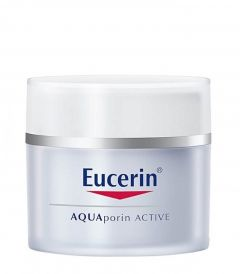 Eucerin AQUAporin Active Moisturising Care for Normal to Combination Skin (50mL)