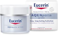 Eucerin AQUAporin Active Moisturizing Care Dry Skin (50mL)
