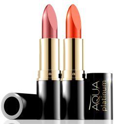 Eveline Cosmetics Aqua Platinum Lipstick (4g)