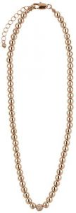 Buckley London Rose Gold Simplicity Bead Necklaces FNL1187