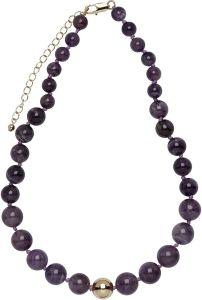 Buckley London Semi Precious Necklaces Amethyst FNL1198