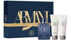 Giorgio Armani Acqua di Gio Profondo EDP (75mL) + SG (75mL) +ASB (75mL)