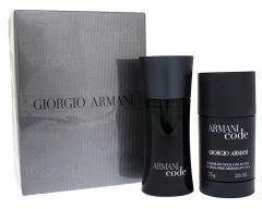 Giorgio Armani Black Code EDT (75mL) + Dezodorants-Stiks (75mL)