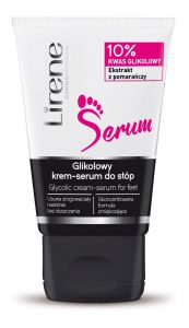 Lirene Glycolic Cream-Serum for Feet (50mL)