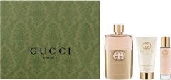Gucci Guilty EDP (90mL) + BL (50mL) + EDP (15mL)