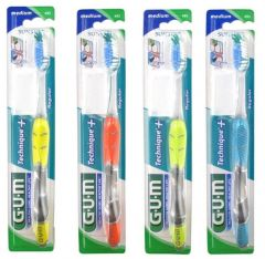 Gum Technique+ Toothbrush Medium Blue
