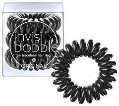 Invisibobble Power Hair Ring (x3) True Black