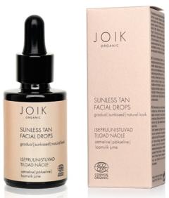 Joik Organic Sunless Tan Facial Drops (30mL)