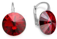Spark Silver Jewelry Earrings Sweet Candy Scarlet