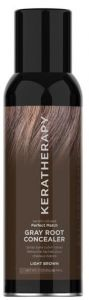 Keratherapy Perfect Match Gray Root Concealer (118mL) Medium-Dark Brown