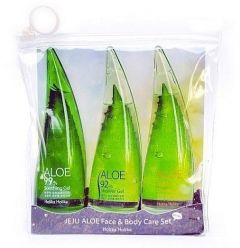 Holika Holika Jeju Aloe Face And Bodycare Set (3x55mL)