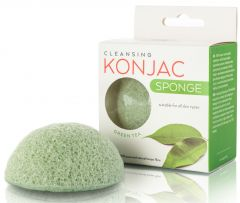 Active Line Beauty Konjac Sponge with Green Tea