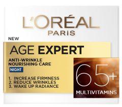 L'oreal Paris Age Specialist Anti-Wrinkle Nourishing Night Cream +65 (50mL)