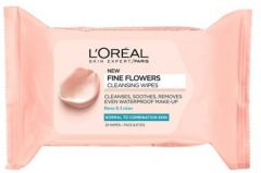 L'Oreal Paris Make-Up Removal Wipes for Dry and Sensitive Skin (25pcs)