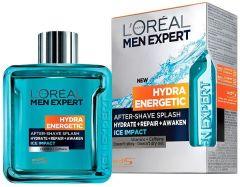 L'Oreal Paris Men Expert Hydra Energetic Ice Impact After-Shave Splash (100mL)