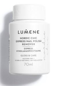 Lumene Nordic Chic Express Nail Polish Remover (70mL)