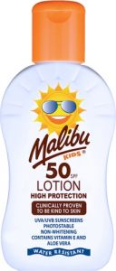 Malibu Kid's Lotion SPF50 (100mL) Waterproof