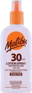 Malibu Lotion Spray SPF30 (200mL) Waterproof
