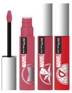 Maybelline New York Super Stay Matte Ink Liquid Lipstick Marvel Collection (5mL)